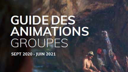 Guide des animations 2020-2021