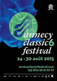 Affiche Annecy Classic Festival